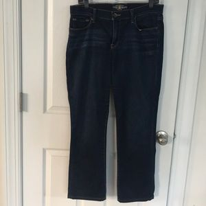 Lucky Brand Sofia Straight stretch jeans size 12